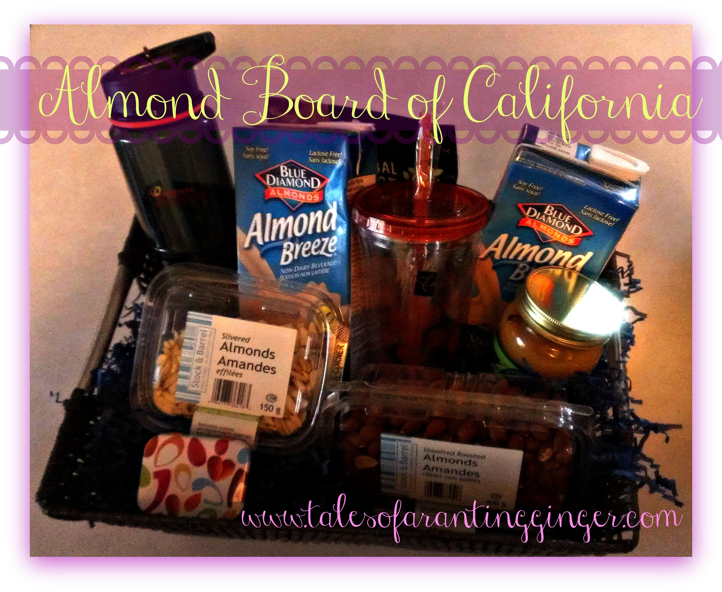 Almond Board of California - Tales of a Ranting Ginger Almond Board