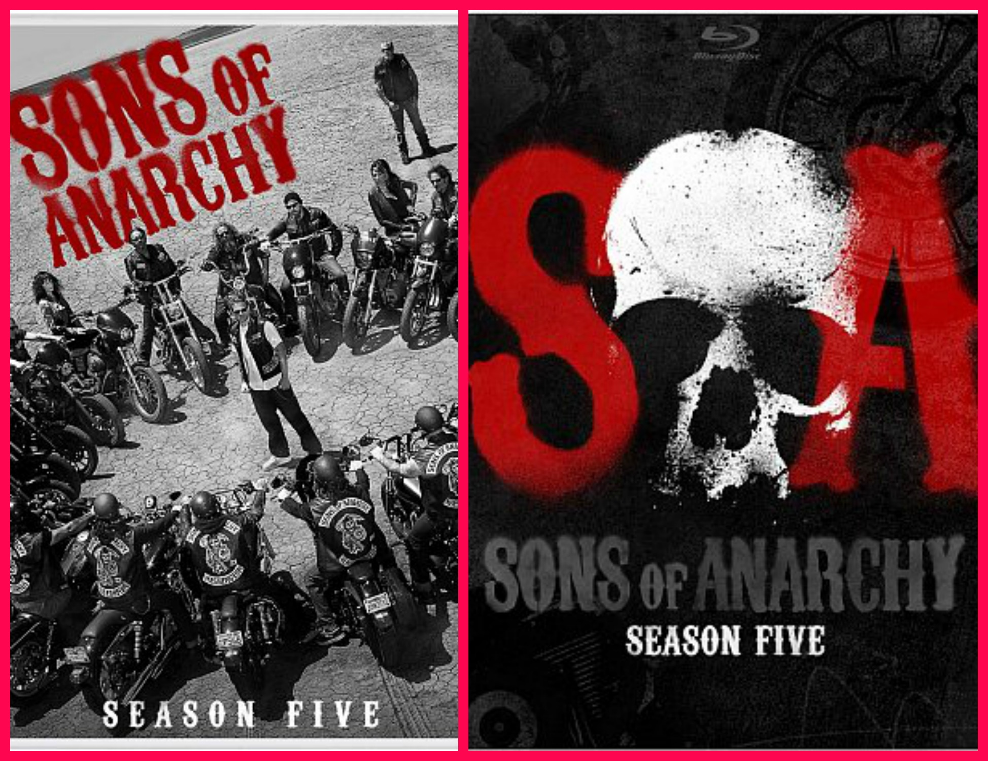 sons of anarchy season 5 on blue ray and dvd tales of a ranting ginger. Black Bedroom Furniture Sets. Home Design Ideas