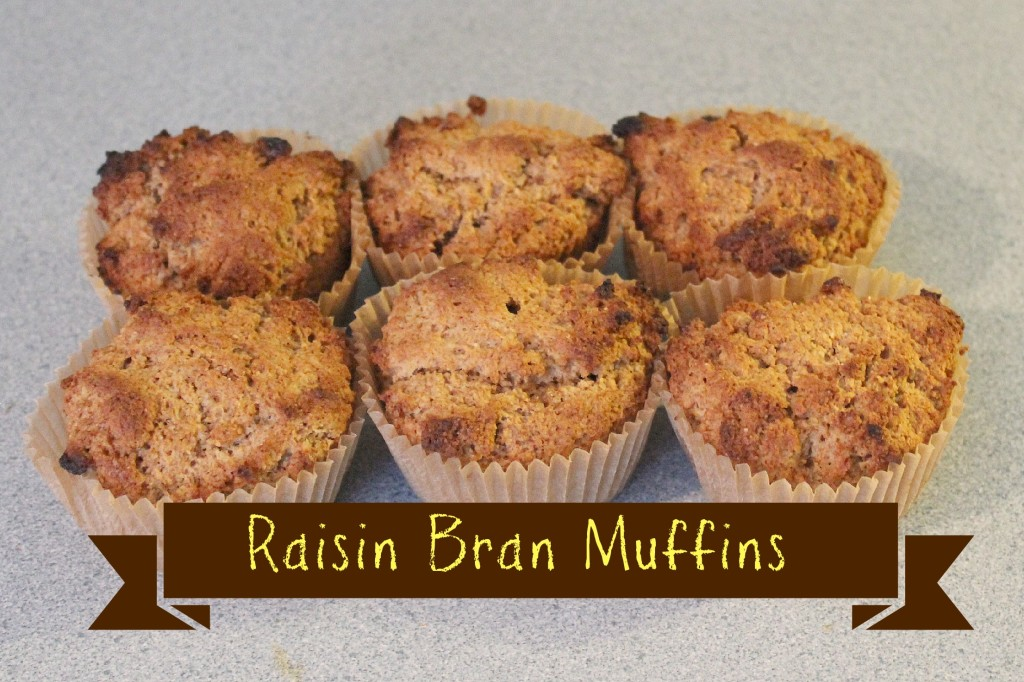 Raisin Bran Muffins Recipe - Tales of a Ranting Ginger