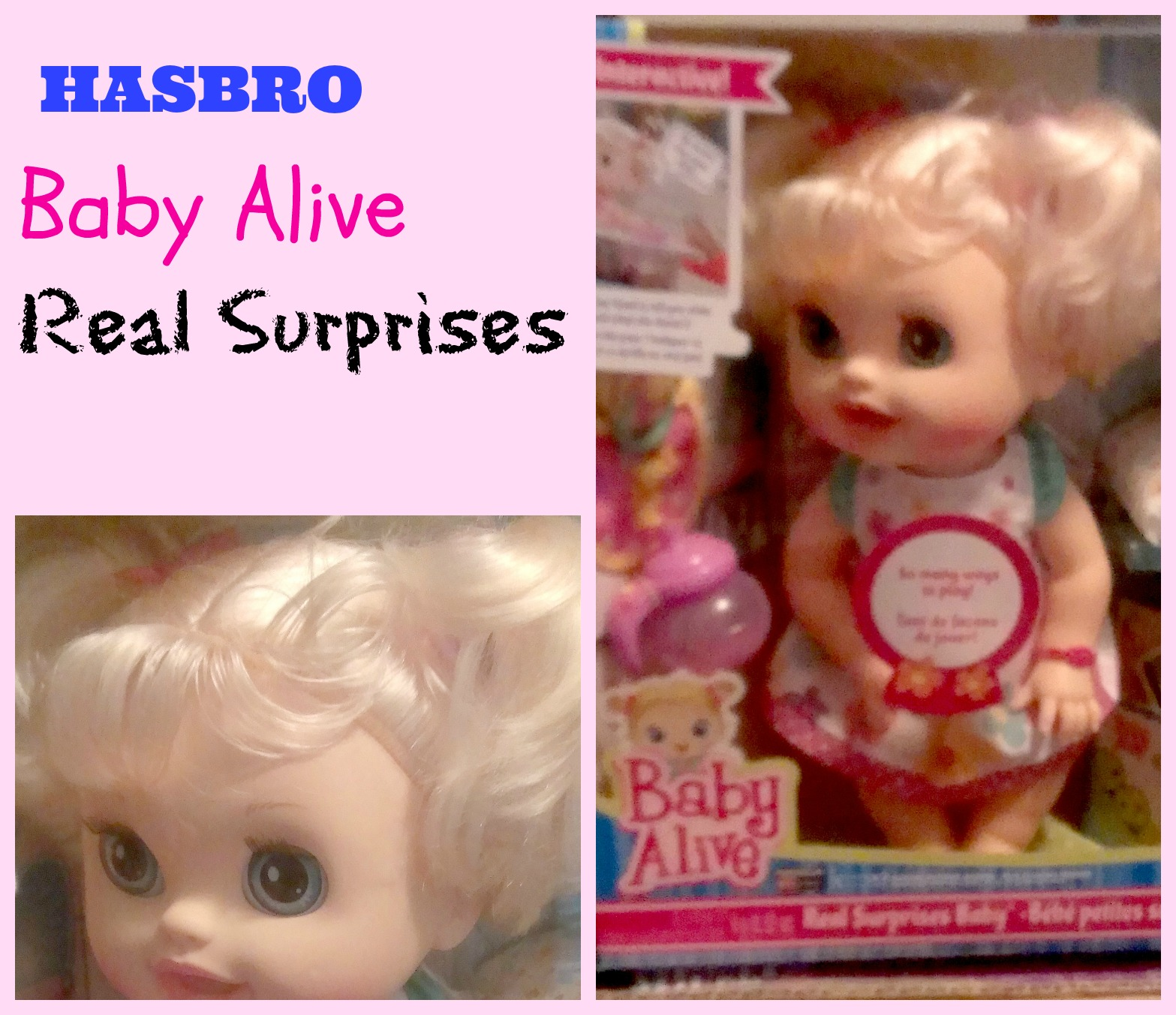 Baby Alive Doll Food Mix is