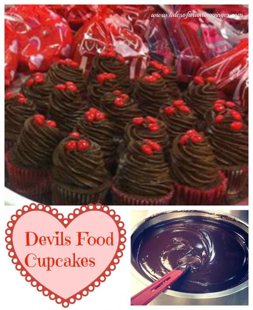 devil s food layer cake with peppermint frosting devil s food cupcakes ...