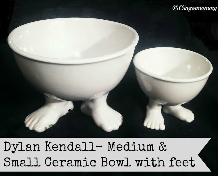 feet bowl large and small