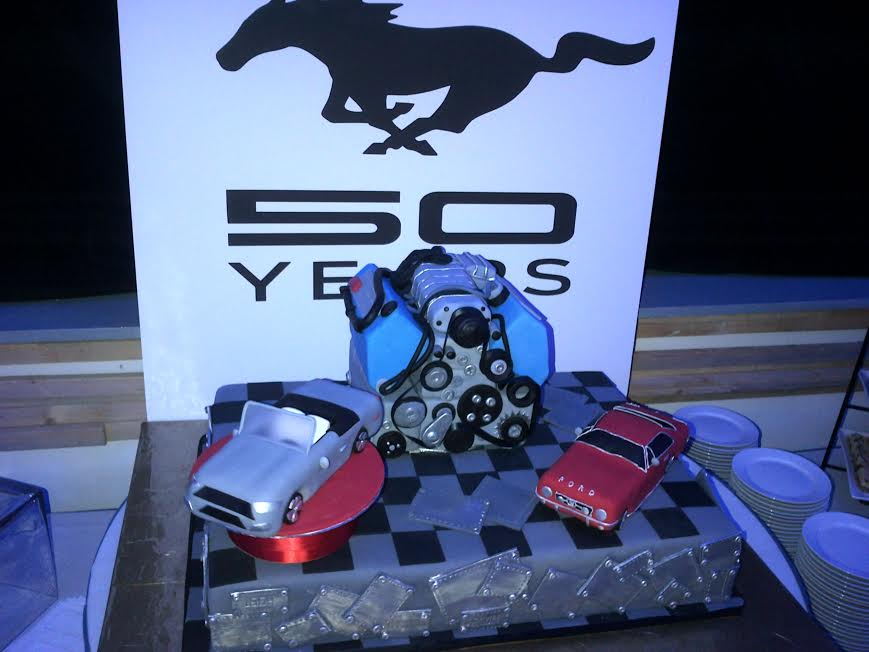 Ford Mustang Cakes Ford Mustang Turns 50 Event