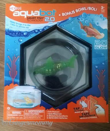 Hexbug aquabot 2 0 hammerhead shark tales of a ranting for Aquabot smart fish