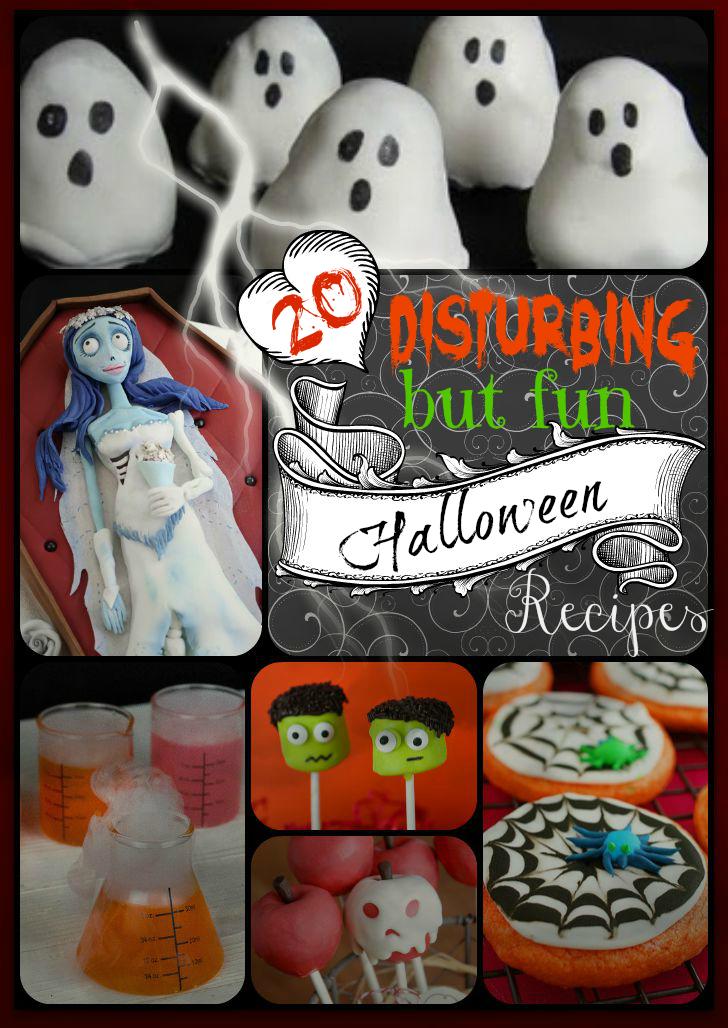 20 Disturbing but fun Halloween recipes - Tales of a Ranting Ginger