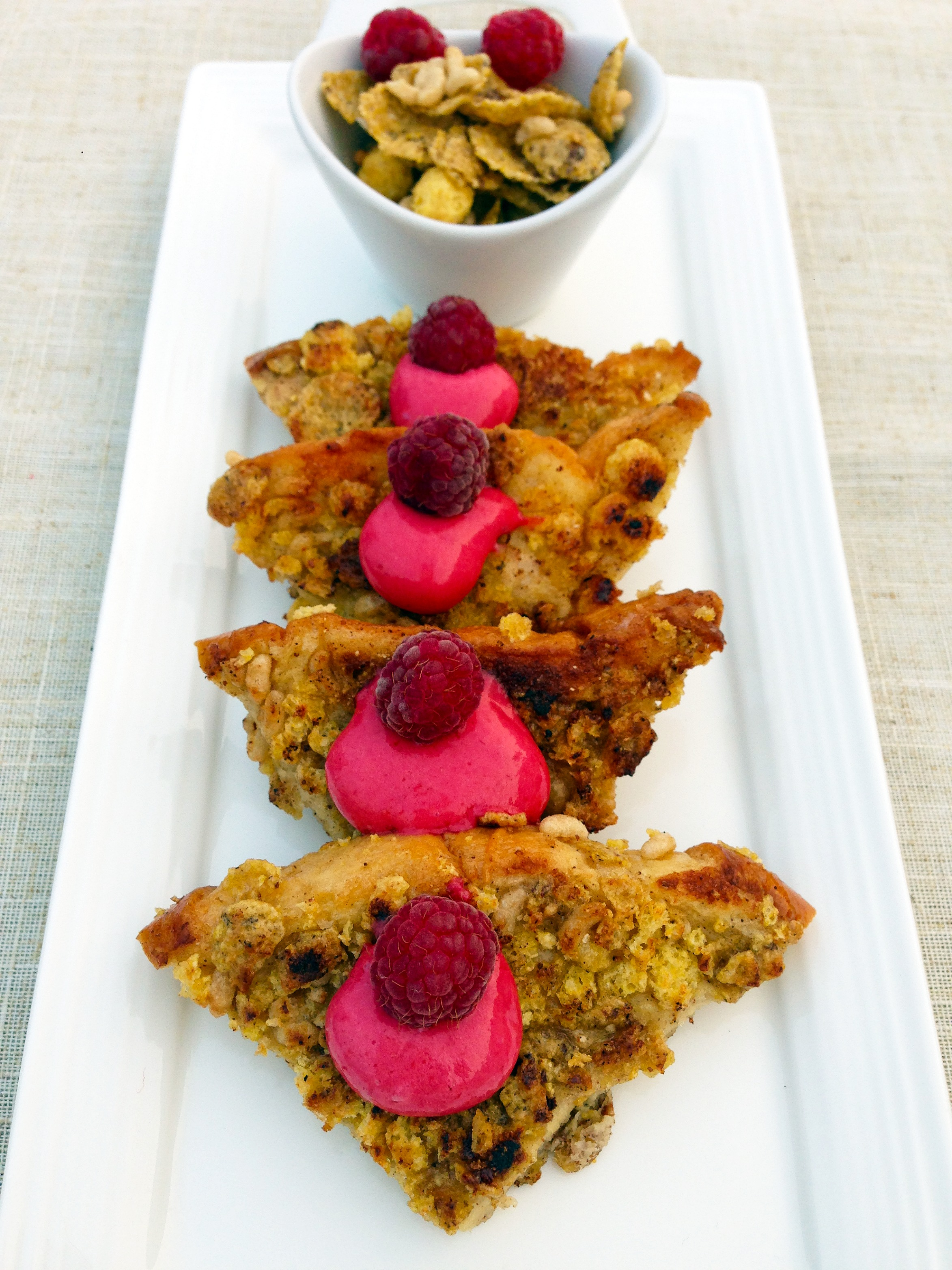 Crunchy French Toast with Raspberry Whip - Tales of a ...