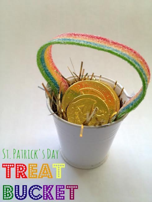 st patricks day bucket