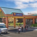 When Location is everything! Comfort Inn Clifton Hill Niagara Falls