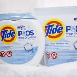 Tide Pods Free & Gentle- Win a Sensitive Skin Laundry Pack Canada #PGMom