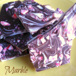 Super Yummy Marble Peppermint Bark for the holidays