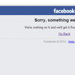 Social Media is part of our daily routine #FacebookDown