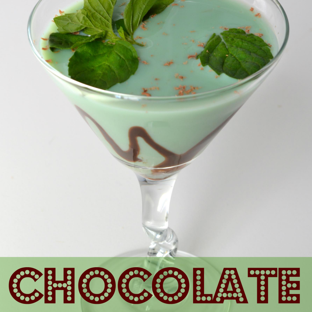 chocolate mint martini