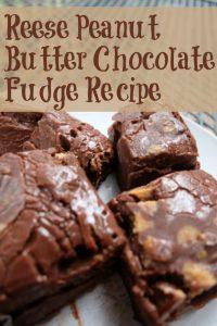 Reese Spreads Peanut Butter Chocolate Fudge Recipe #DoYouSpoon