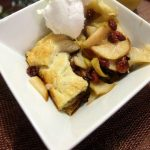 Pear & Cranberry Tart Recipe #DiscoverFreshContest