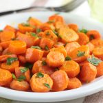 Brown Sugar Carrots for Thanksgiving  #HeartfeltFood #ad