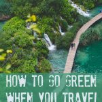 How to Go Green when You Travel