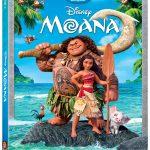 MOANA comes to Blu-Ray & Digital HD Giveaway