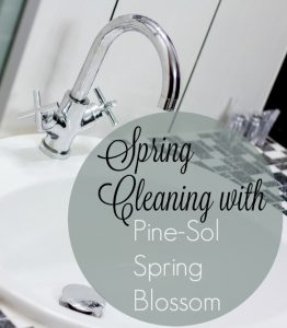 Spring Cleaning with Pine-Sol's #SpringBlossom #YesitsPineSol