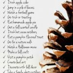 25 Things to Do This Fall